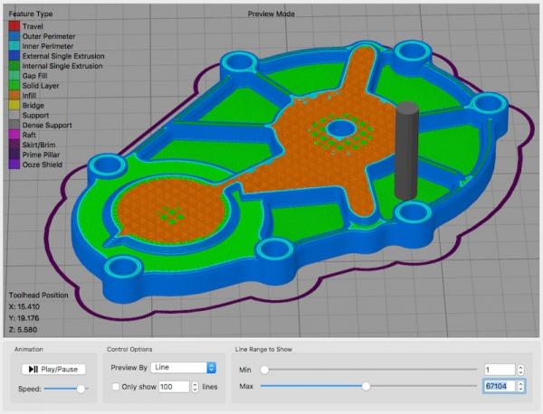 3D-Fabrik, 3D Drucker Handels GmbH - Simplify3D Slicing Software
